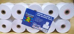 Sinarline Cash Register Roll, 76 x 70mm, 10 Piece, White