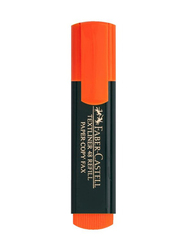 Faber-Castell 10-Piece Textliner Classic Highlighter, Orange