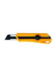 KDS Job Boss Pro Extra Heavy-Duty Utility Knife, 25mm x 0.7mm, H-12YE, Yellow