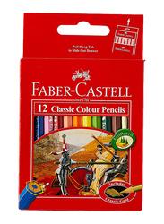 Faber-Castell 12-Piece Classic Color Pencils Set, Multicolor
