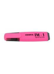Zebra FM-1 Highlighter Pen, Pink