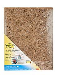 Post-it Cut-to-Fit Display Board, 18 x 23 Inch, 558 BN CTF, Intense Brown