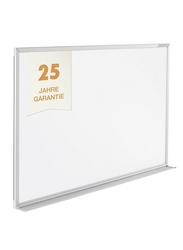 Magnetoplan Magnetic White Board, 180cm X 120cm, White