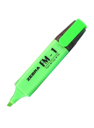 Zebra 12-Piece FM-1 Highlighter Pen Set, Green