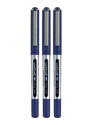 Uniball 3-Piece Eye Micro Rollerball Pen Set, 0.5mm, UB-150, Blue
