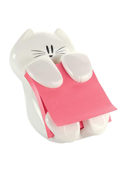 Scotch Post-it CAT 330 Pop Up Note Dispenser with 1 Pad 45 Sheets, White