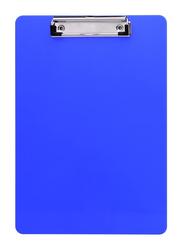 Stobok Plastic Clipboard, 6 Piece, Blue