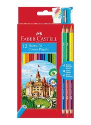 Faber-Castell 12-Piece Classic Color Pencils Set, 115852, Multicolor
