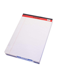 Sinarline PD02083 Legal Notepad, 40 Sheets, 56 GSM, A4 Size, 6 Pieces, Multicolor