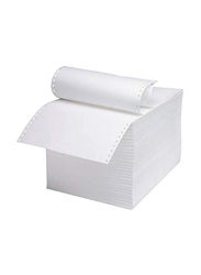 Sinarline Computer Paper, 9.5 x 279.4mm, 60GSM, 1-Ply, A4 Size, White