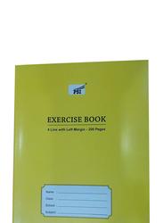 PSI 6-Piece Exercise Book Set, 200 Sheets, Green
