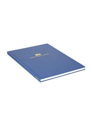 Generic Register/Manuscript Book, 100 Pages, A4 Size, Blue