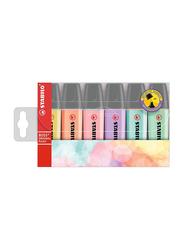 Stabilo 6-Piece Boss Original Pastels Highlighter Set, Multicolor