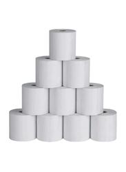 Emigo POS Receipt Paper, 60 Rolls, 8 x 8 cm size, White