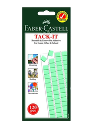 Faber-Castell Tack-It 187092 Reusable Adhesive Set, 75gm, Light Green