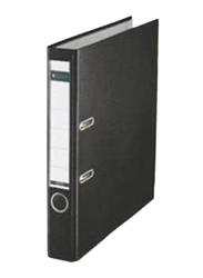 Quick Office Leitz Standard Lever Arch File, A4, Narrow (52mm) Spine, Black