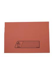 Delight Premier 300GSM Full Flap/Cover File, 10 Piece, Orange