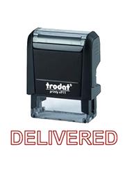 Trodat Printy 4911 Delivered Stamp, Black