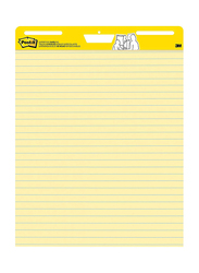 Post-it Super New Improved Version Sticky Easel Pad, Yellow
