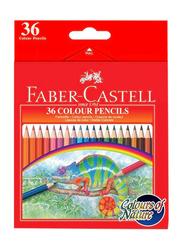 Faber-Castell 36-Piece Color Pencil Set, Multicolour