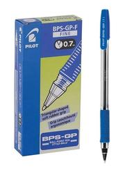 Pilot 12-Piece BPS-GP Ball Point Pen Set, 0.7mm, Blue