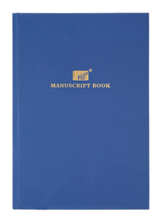 Generic Register/Manuscript Book, 150 Pages, Foolscap Size, Blue