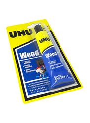 UHU Wood Glue, 27ml, Yellow/Blue
