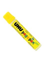 UHU Pega Glue Pen, 2 x 50ml, White