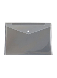 Stopbook Document Envelope Folder for Office/Work/School, 24 Pieces, Transparent