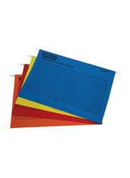 Amest Suspension Hanging File, A4 Size, 50 Pieces, Multicolor