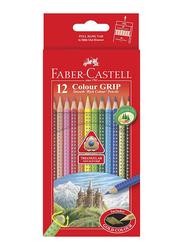 Faber-Castell 12-Piece Color Grip pencils Set, Multicolor
