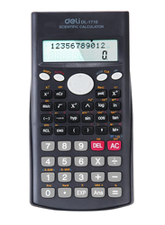 Deli Dark Grey Scientific Calculator, E1710, Black