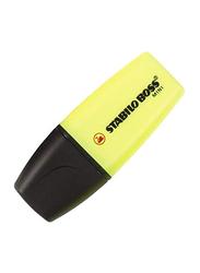 Stabilo 3-Piece Boss Mini Highlighter, Yellow