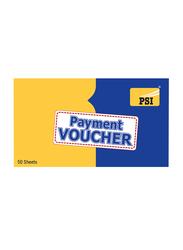 PSI Payment Voucher, 50 Sheets, 3 Pieces, Multicolor