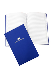 PSI Manuscript Book, Full Scape 8 Quire, Blue