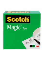 Scotch Brand Magic Tape Boxed (810), 1 x 1296 Inch, Transparent