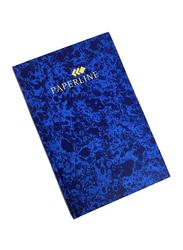 Paperline HB02799 Manuscript/Register Book, 3.3 x 21cm, 144 Sheets, Blue