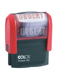 Colop Printer 20 Urgent Rad Link Stamp, Red/Black