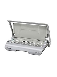 Fellowes Star 150 Manual Comb Binding Machine, Silver/Grey