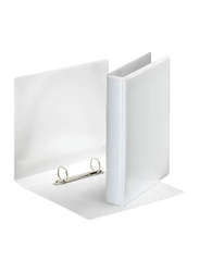 Presentation 2 Rings Binder with 40mm Spine, White
