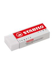 Stabilo 6-Piece Legacy 1186 Eraser, White