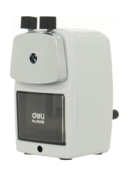 Deli 620 Pencil Sharpener, White/Black