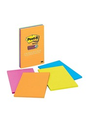 Post-it D2LRK Marrakesh Collection Super Sticky Notes, 4 x 6 inch, 45 Sheets, 4 Pieces, Multicolor