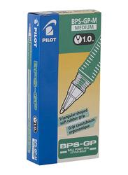 Pilot 12-Piece BPS-GP Ball Point Pen, 1.0mm, Green