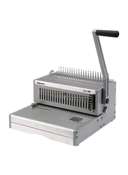 Fellowes Orion 500 Manual Comb Binding Machine, FEL 5642601, Silver