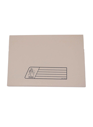 Delight Premier 300GSM Full Flap/Cover File, 10 Piece, Buff Brown
