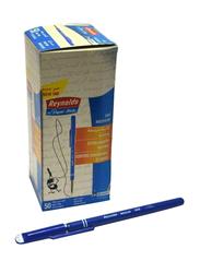 Reynolds 50-Piece 048 Paper Mate Medium Ballpoint Pen, Blue