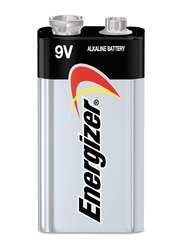 Energizer Max 9v Battery, Silver