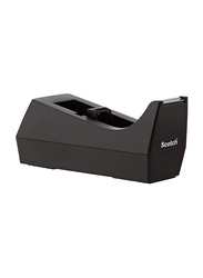 Scotch C-38 Desk Tape Dispenser 1-inch Core, Black