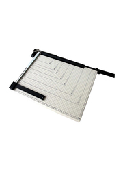 Deli Paper Trimmer, E8012, Black/White